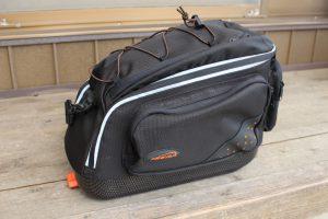 このバッグも含めてキャリアはIBERAで統一